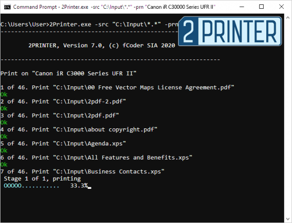 2Printer 7.0 – a Command-Line Alternative to Print Conductor