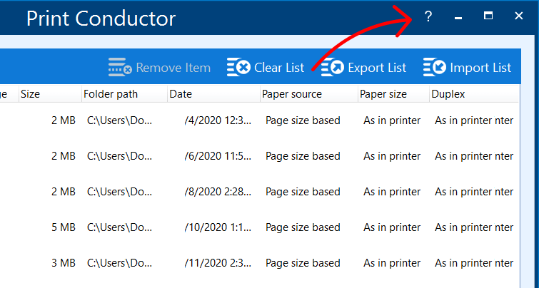 Check additional software installed for print automation