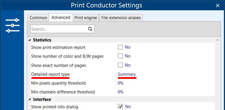 Get statistics on print jobs