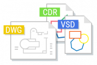 DWG, CDR, VSD icon