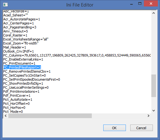 Print a list of files at the end of the print session with Print Conductor