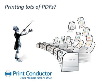Print Conductor Previous Mascot design #1